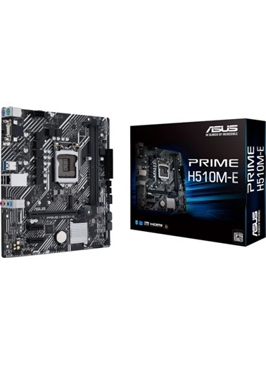 Asus Prıme H510M-K Intel H510 Soket 1200 Ddr4 3200Mhz(Oc) M.2 Anakart Renkli